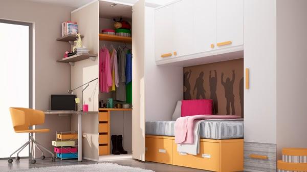Blog ideh bita 5 ideas para decorar dormitorios juveniles for Habitacion puente juvenil