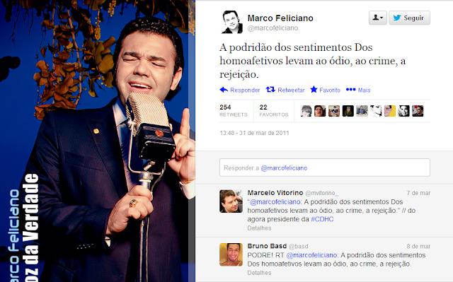Grupo de deputados contesta a eleição de Marco Feliciano