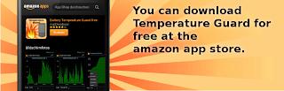 temperature guard amazon app store