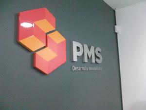 pms - LETRAS  EN ACERO Y LOGOTIPO EN POLIURETANO