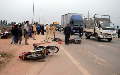 Tai nạn ở Hoàng Ninh, hai người tử vong