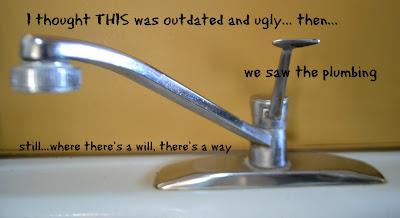 vintage kitchen faucet