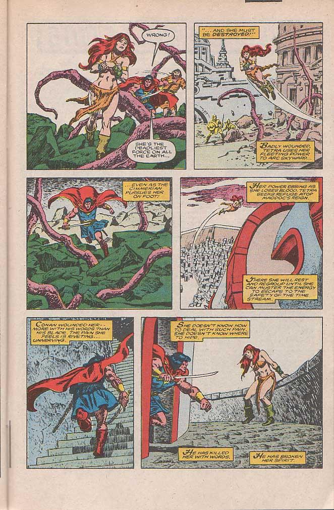 Conan the Barbarian (1970) Issue #185 #197 - English 21