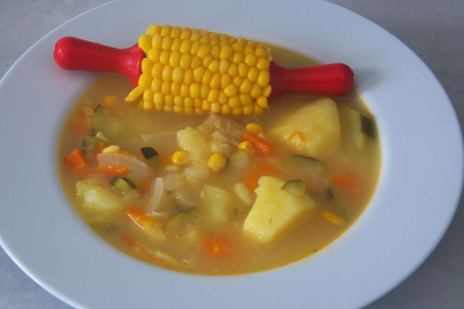 Mis caprichos culinarios recetas de la abuela caldo de millo - La cocina dela abuela ...