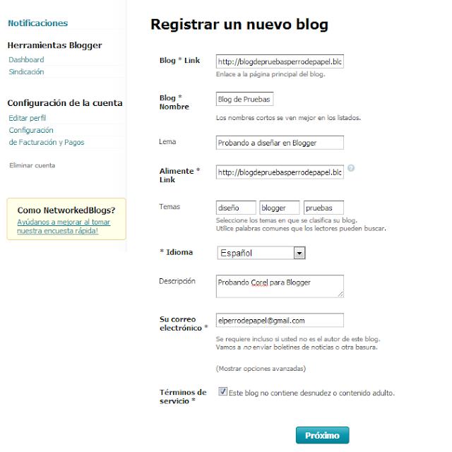 personalizacion de blogspot