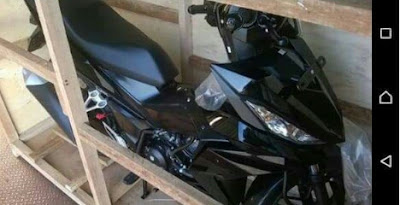 Honda Sonic 150R, motosikal moped 150cc, kapcai