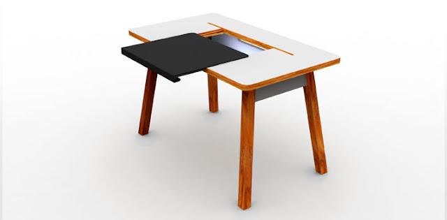 Комп'ютерний стіл StudioDesk з відкритим боксом для проводів