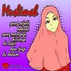 Gambar Dp Bbm Kartun Muslimah Terbaru Dramasosmed Foto Islami