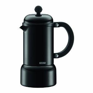Bodum Italian Coffee Maker : Holy Cannoli Recipes: Review: Bodum Chambord Aluminum Stovetop Espresso Maker