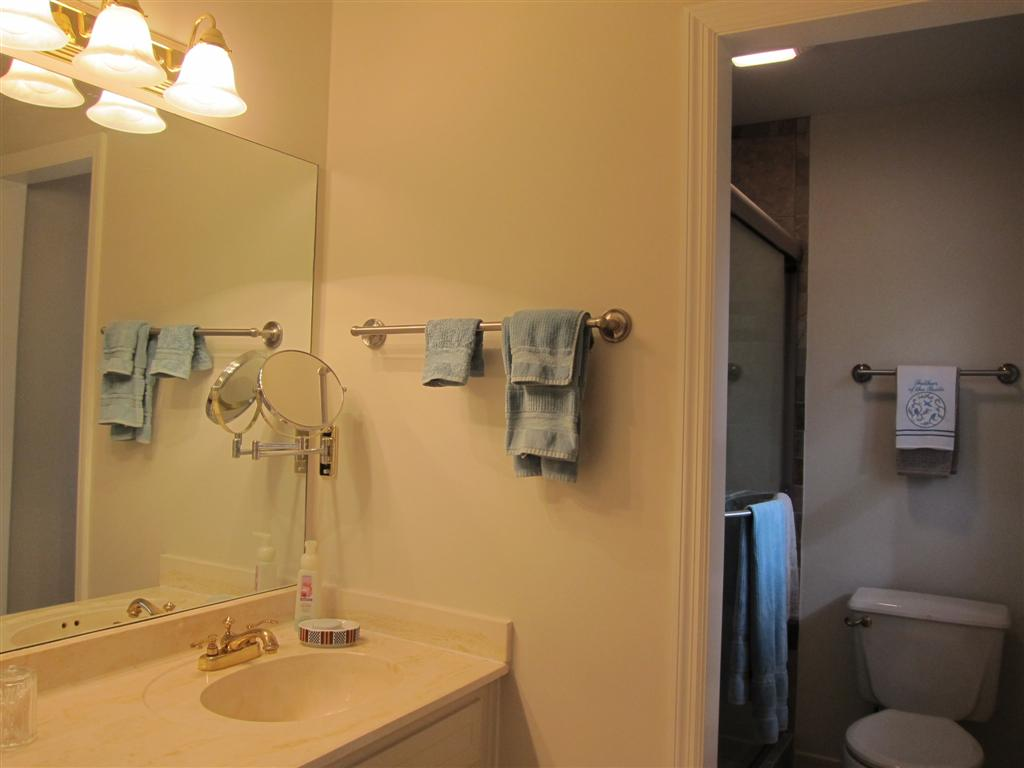 Bathroom countertop height