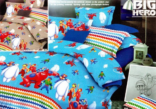 Sprei Anak Renette Motif Big Hero