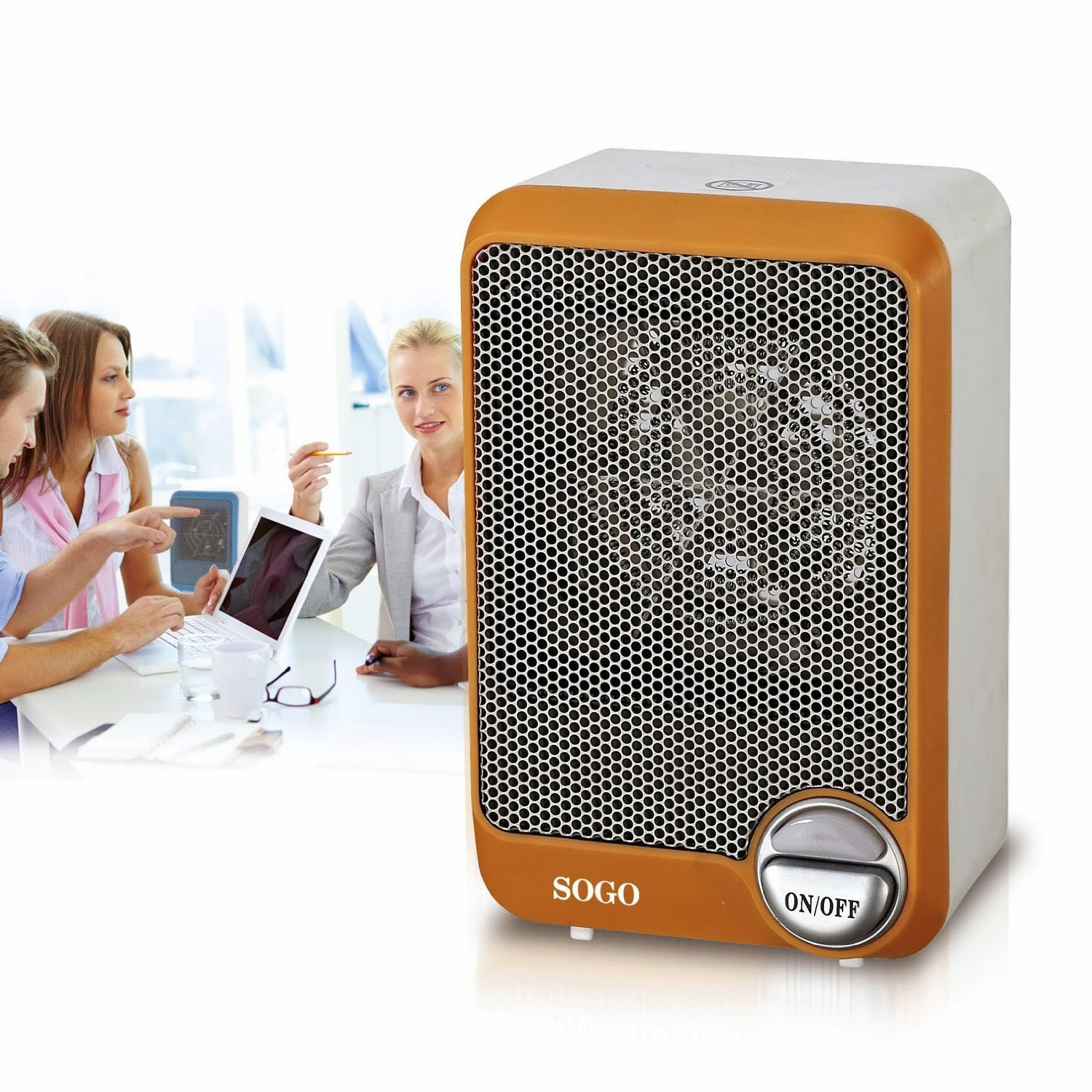 Amazon: Buy SS 18295 Mini Fan Heater at Rs.795