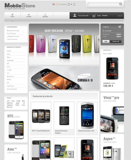 Mobile-Store-Prestashop-Template