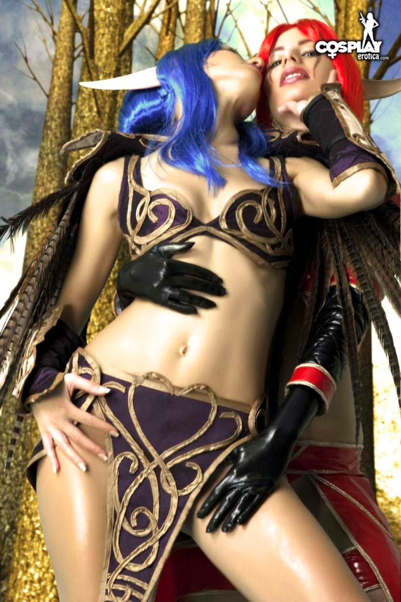 World at warcraft cosplay porn erotic fetish cuties