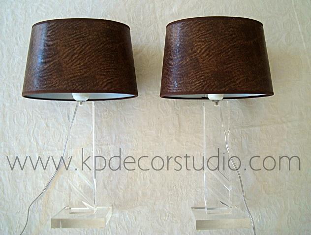 Kp tienda vintage online l mparas de mesa de dise o - Lamparas mesa salon ...