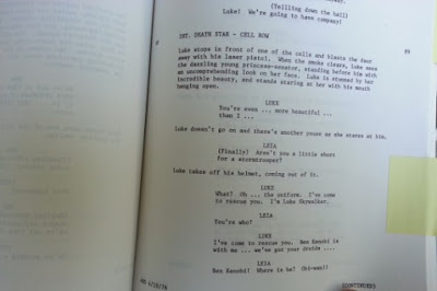Original 1976 Star Wars Script Found In Library