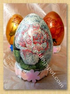 Пасхальное яйцо Оформление в технике Декупаж