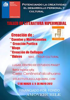 TALLER DE LITERATURA HIPERMEDIAL EN CERRO CENTINELA TALCAHUANO