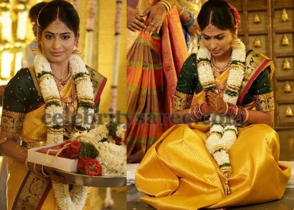 Bride Vijayalakshmi Wedding Saree Saree Blouse Patterns