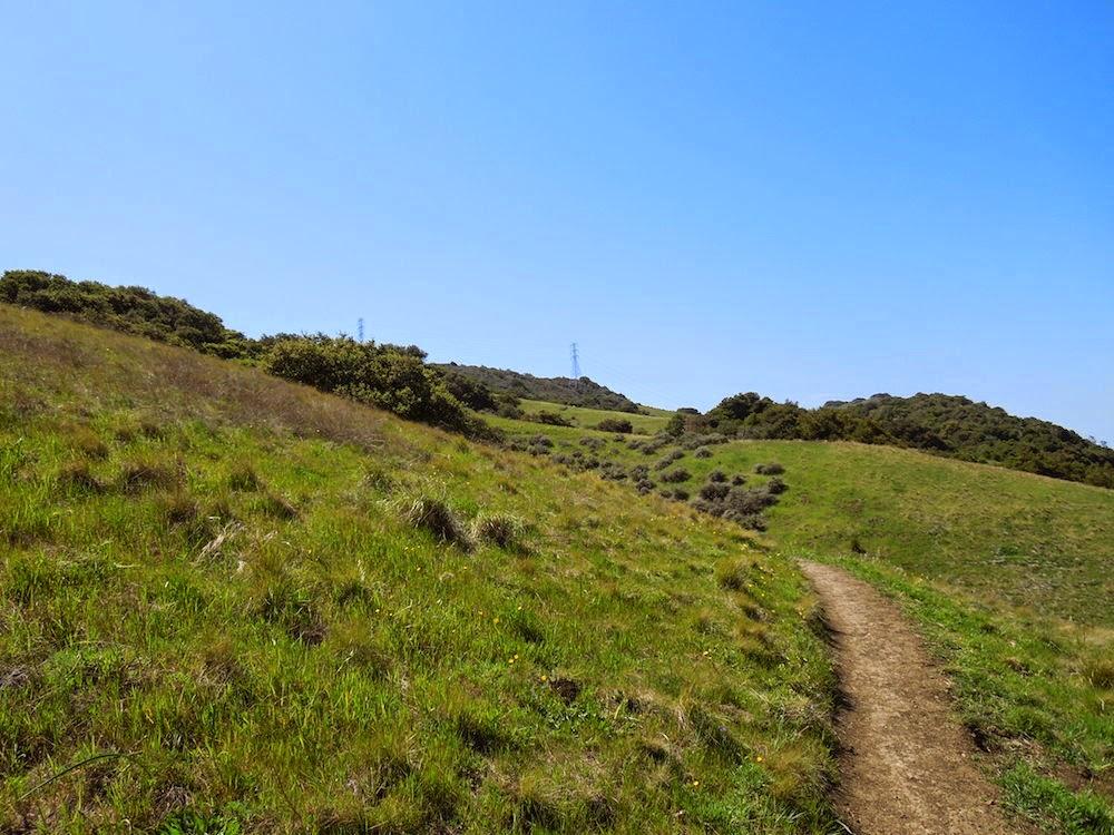 Climbing Trail through Irish Hills, © B. Radisavljevic