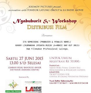 Yuk Ikuti Ngabuburit & Workshop Film
