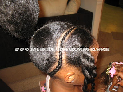 natural hairstyles for girls, ponytails, braids, cornrows