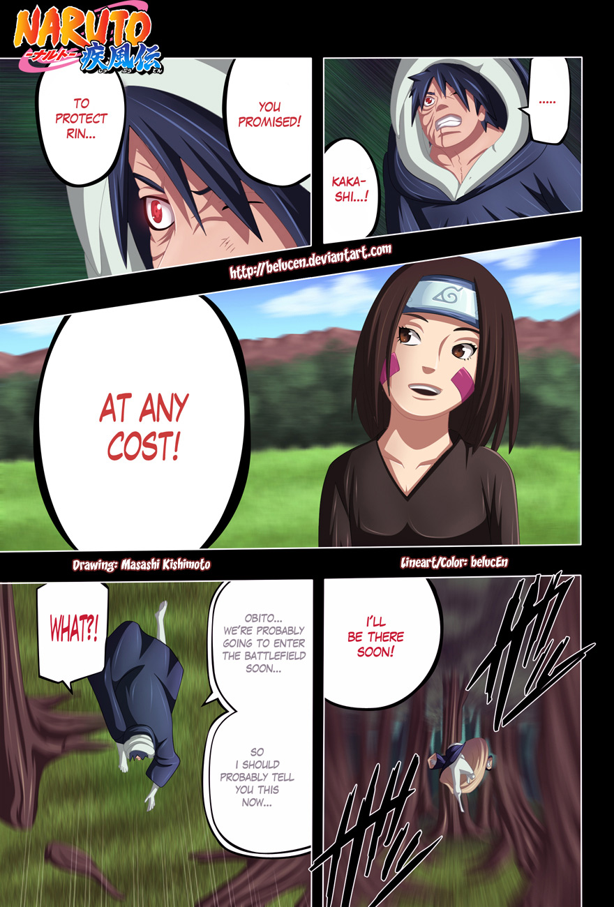 Naruto chap 615 Trang 19 - Mangak.info