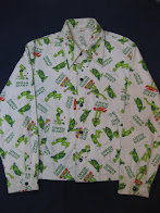 60's              「GREEN GIANT」                総柄 PRINTED                JACKET