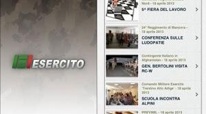 NewsEi la nuova App dell'esercito italiano per rimanere sempre aggiornato
