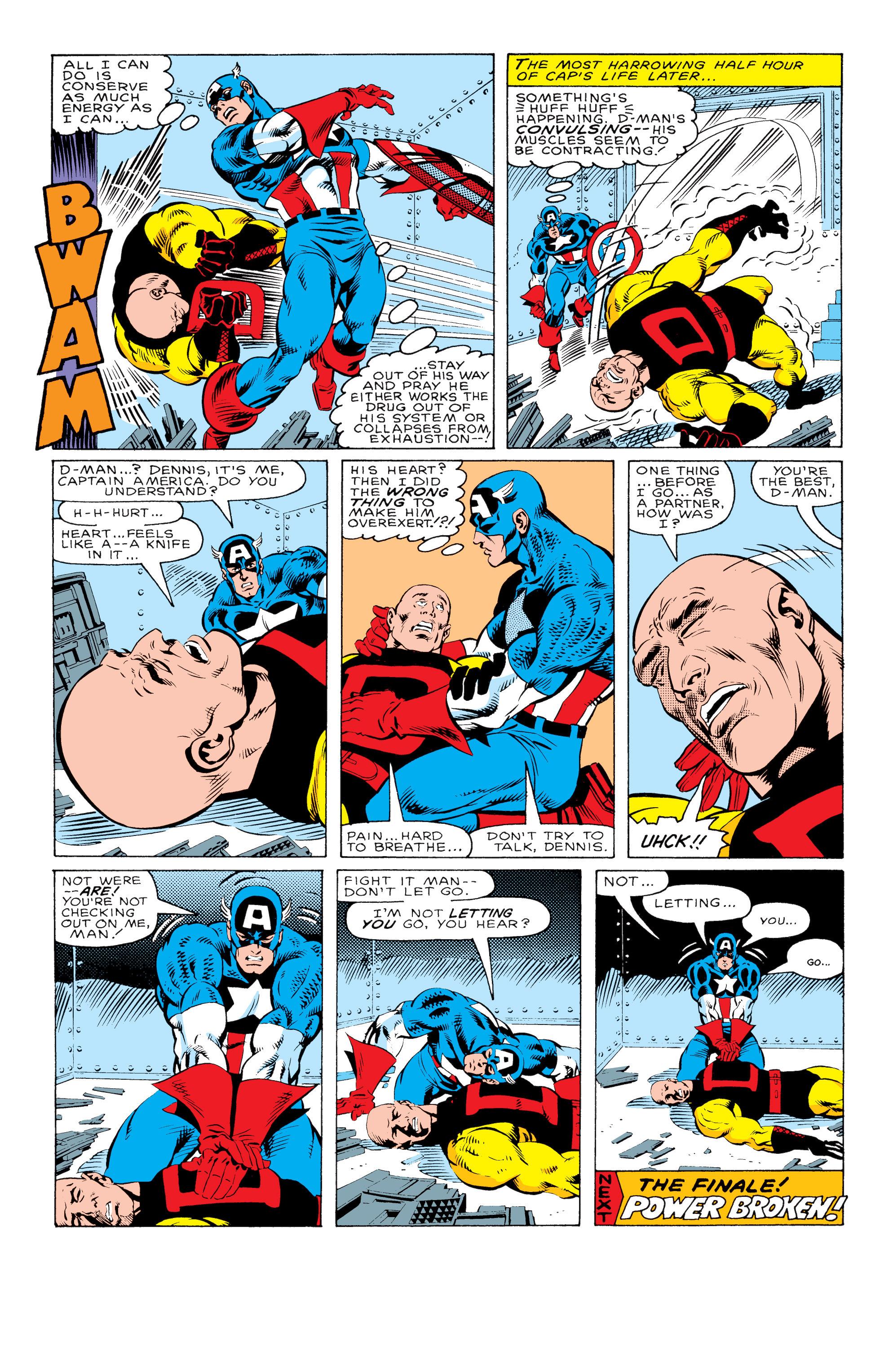 Captain America (1968) Issue #330 #259 - English 23