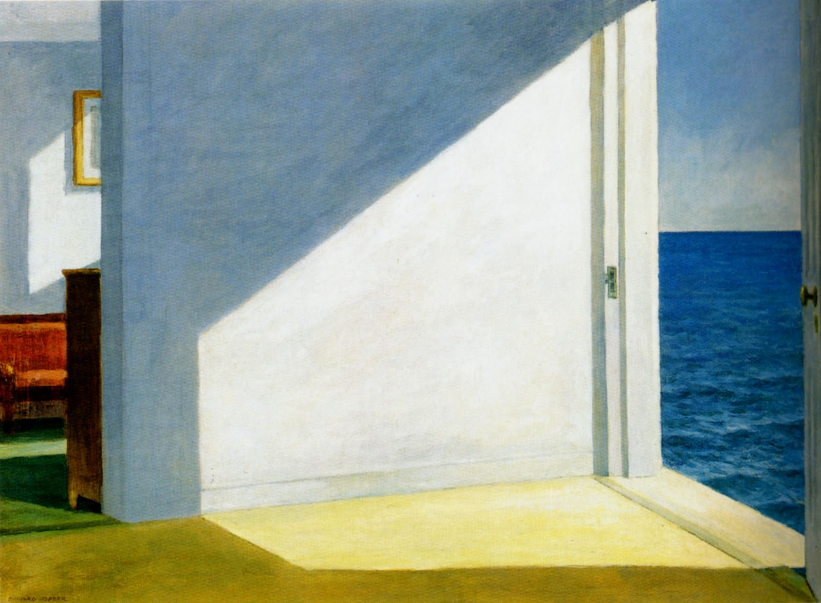 Philip Koch Paintings Edward Hopper 39 S Poetry Of Empty Rooms