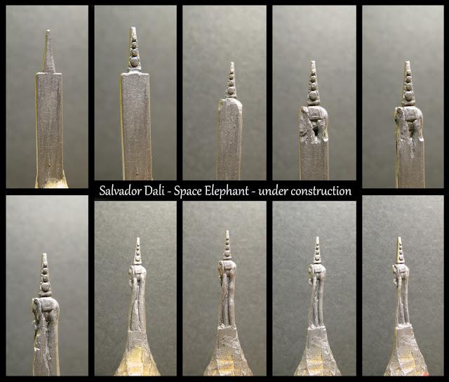 18-Space-Elephant-WIP-Salvador-Dali-Jasenko-Đorđević-Miniature-Sculptures-in-Pencil-Graphite-Lead-www-designstack-co