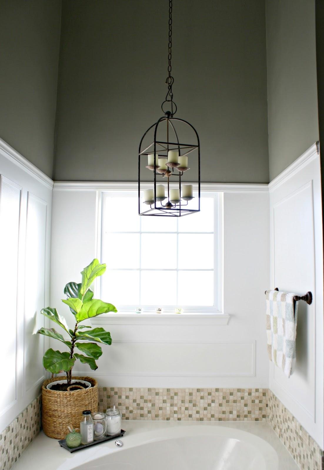 Spa Look In Bathroom