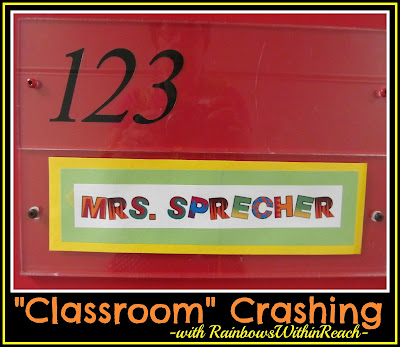photo of: Welcome to Mrs. Sprecher's Room, an Episode of Classroom Crashing