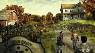 Game Petualangan The Walking Dead Season One MOD APK