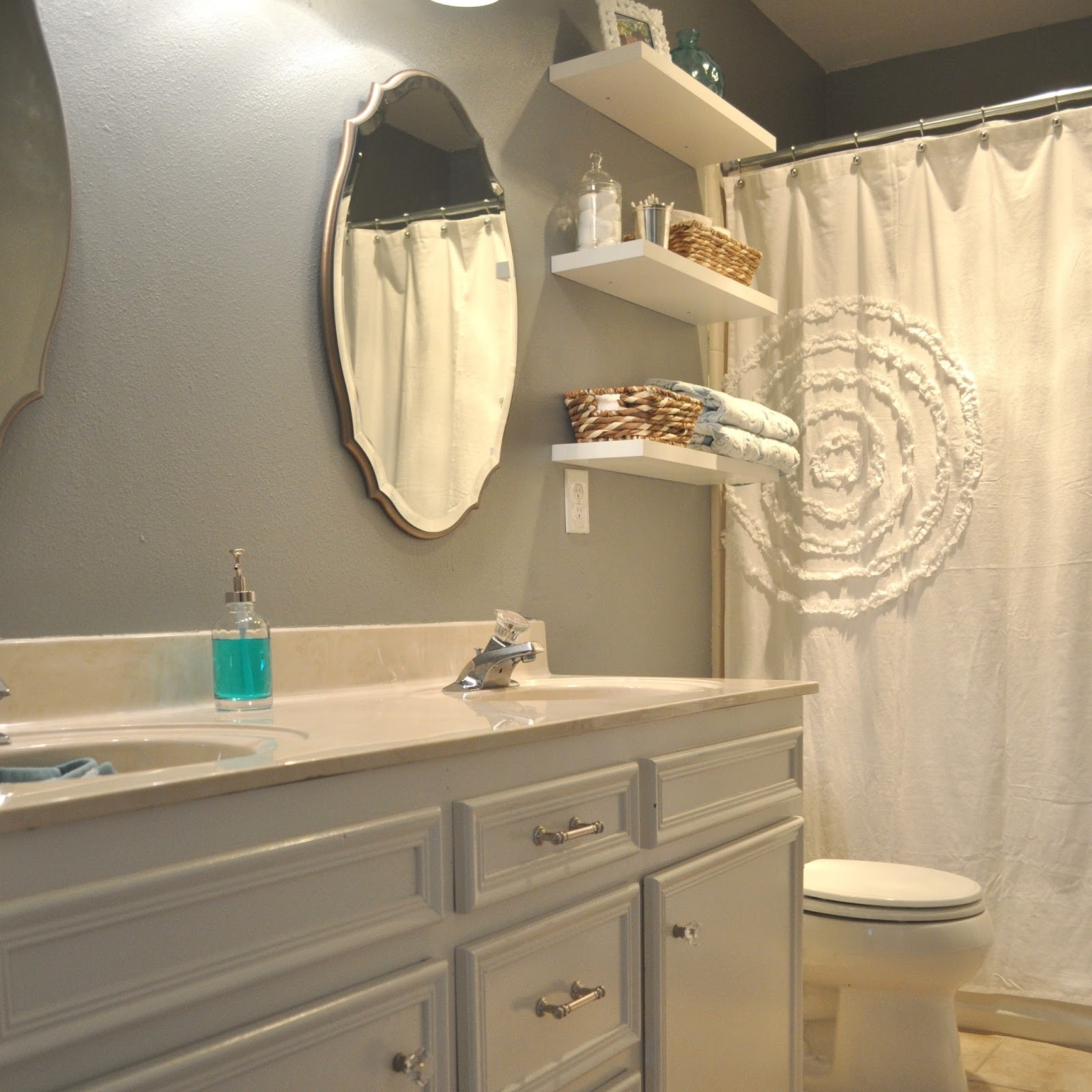 DIY Guest Bathroom - Featured on Better Homes and Gardens | Jesse ...