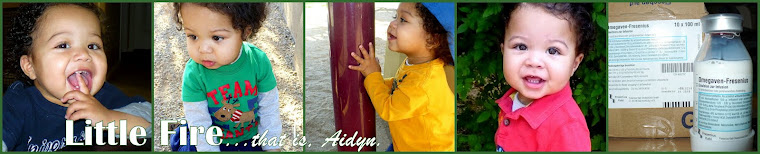 Little Fire... Aidyn.