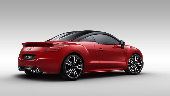 Peugeot presenta el RCZ R