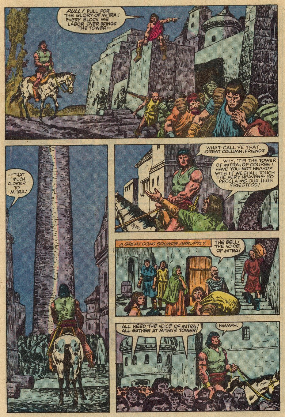 Conan the Barbarian (1970) Issue #147 #159 - English 7