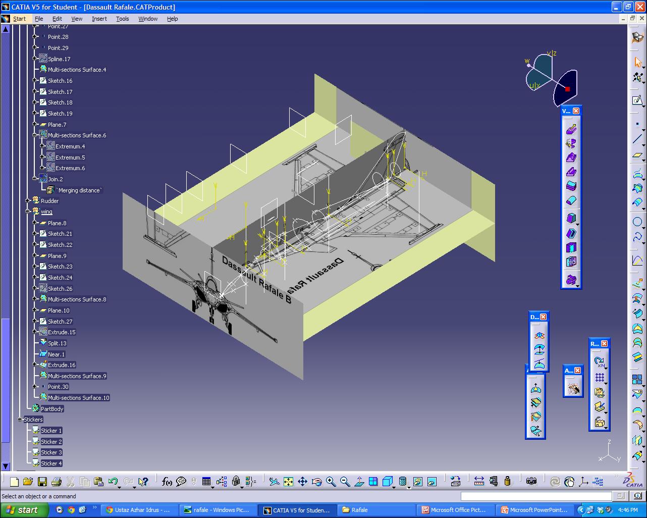 nx surface modelling tutorial pdf