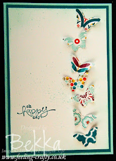 Small Butterfly Punch now available from Stampin' Up! - contact Bekka to get yours