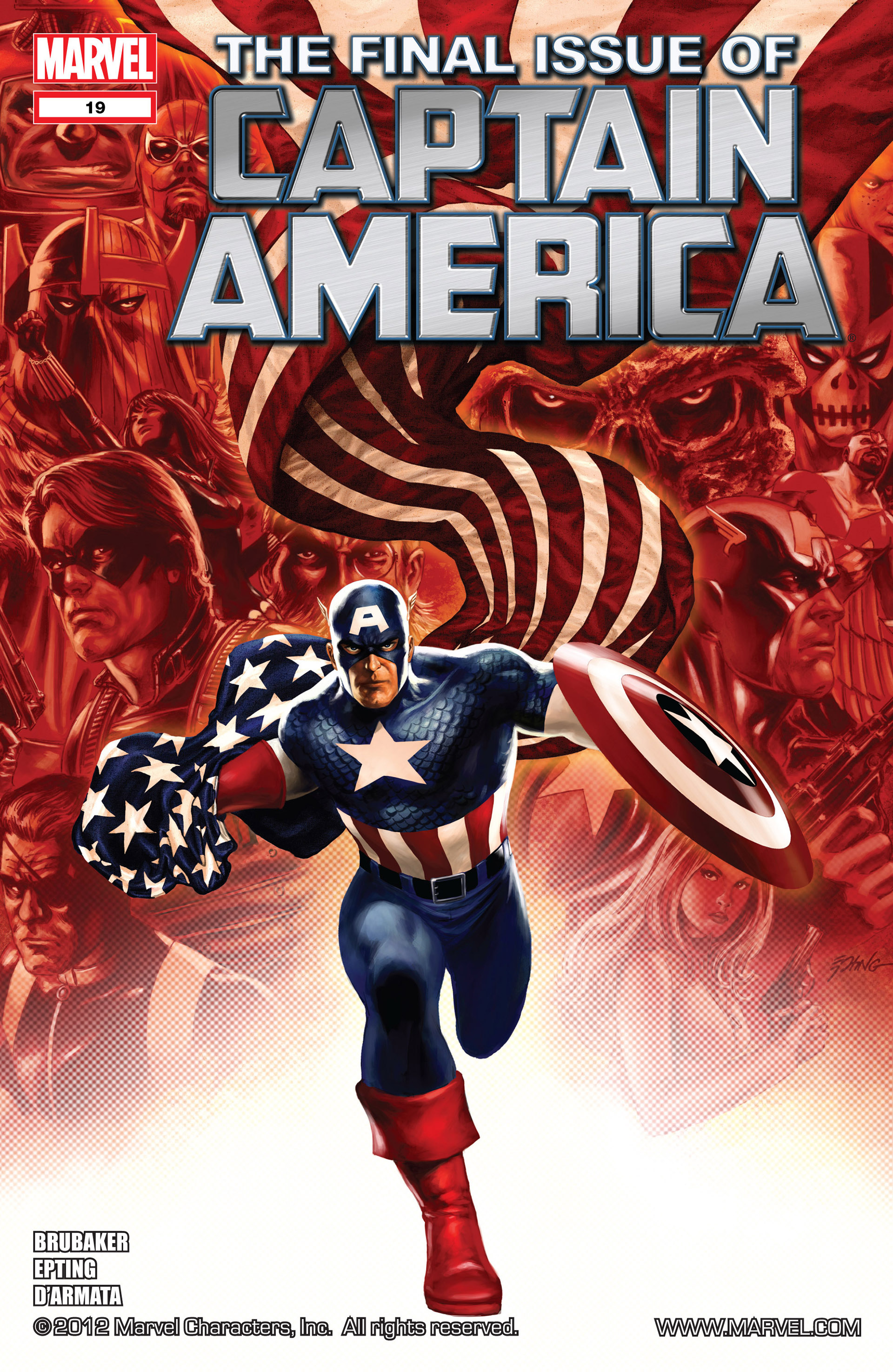 Captain America (2011) Issue #19 #19 - English 1
