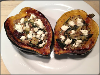 Recipe: Super stuffed acorn squash