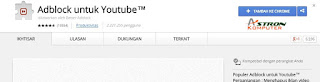 Adsblock for youtube