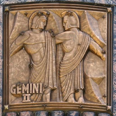 Escultura Geminis en Bronce
