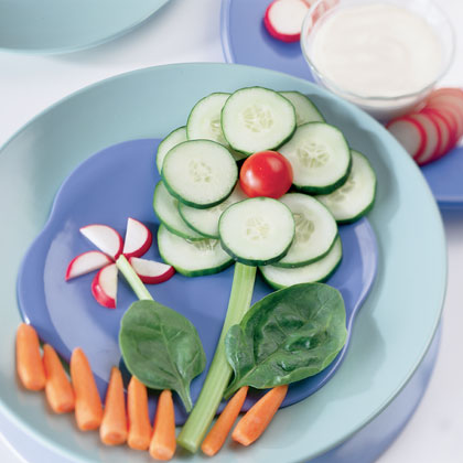 Crazy house reviews fun spring treats for kids - Salad decoration for kids ...