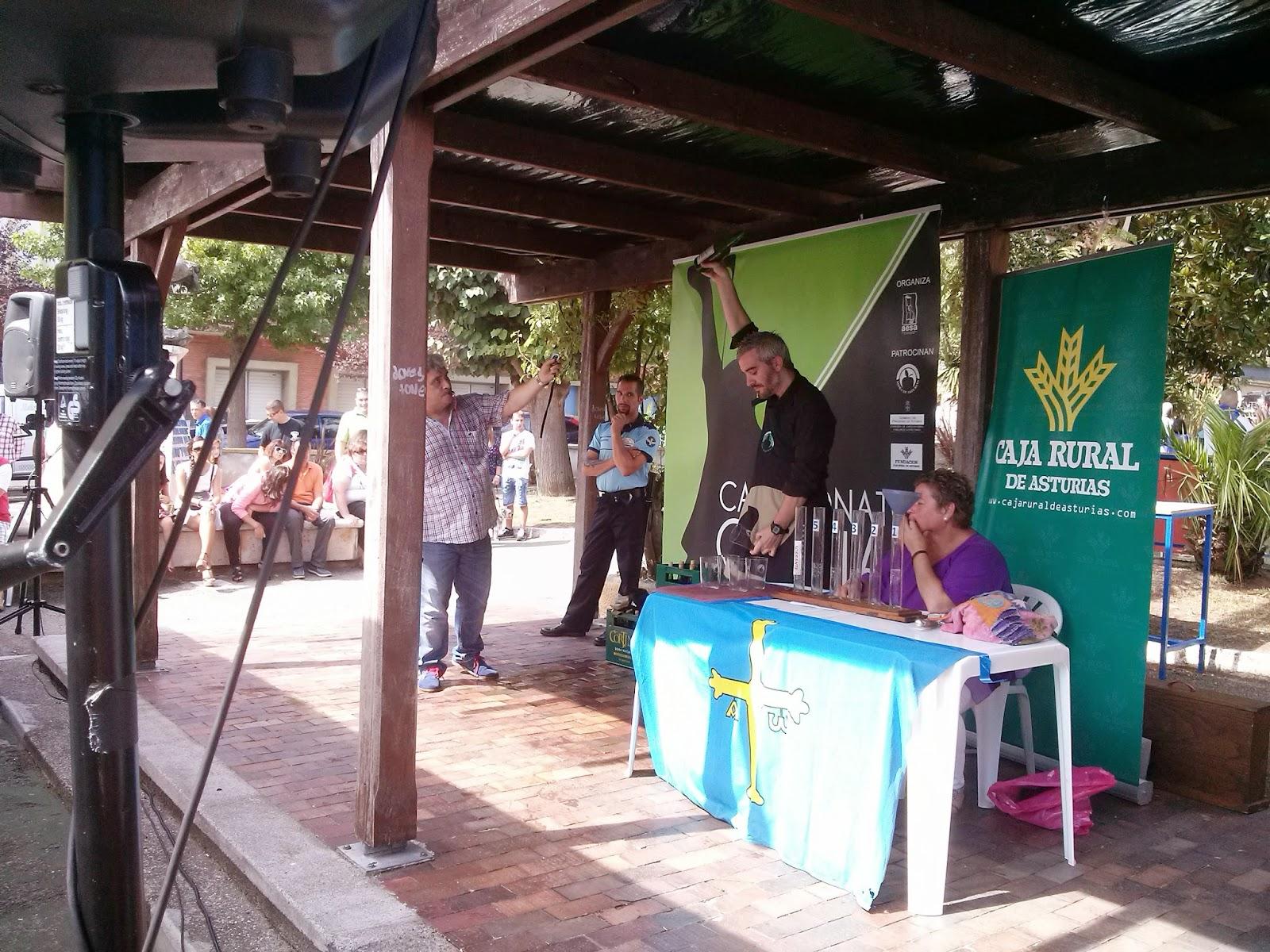 campeonato escanciadores sidra asturias candas concurso