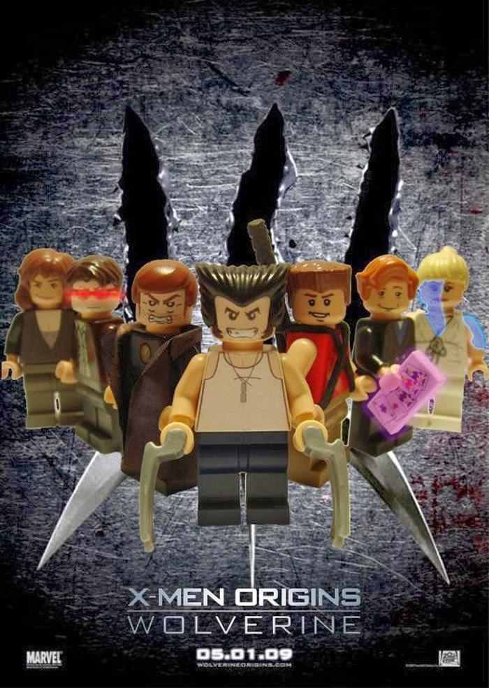 Lego -  Wolverine