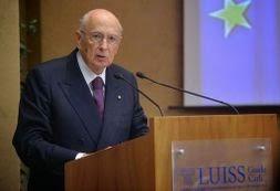 Intervento del Presidente Napolitano