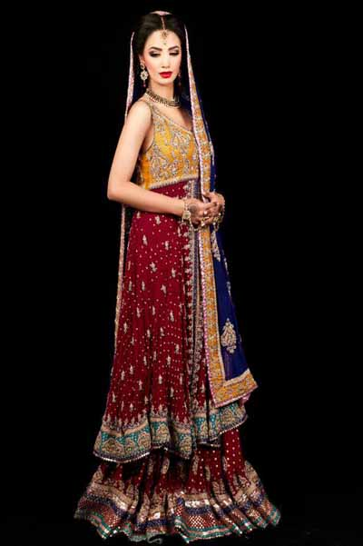 Karma Bridal Dresess Collection 2013 By Fashion She 9
